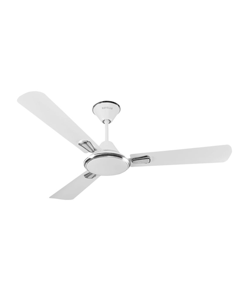 Havells 1200 Mm Festiva Ceiling Fan Pearl White Silver
