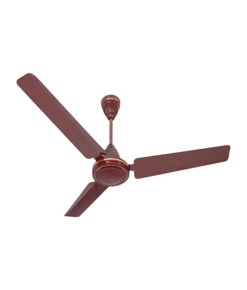 Cheap Ceiling Fans Review: Havells 1200 Mm Pacer Ceiling Fan Brown Price In India