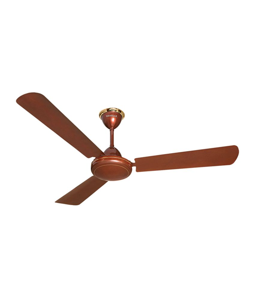 Cheap Ceiling Fans Review: Havells 1200 Mm SS-390 Ceiling Fans -Brown Price In India