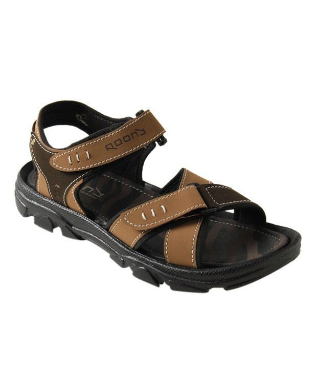 Roony Brown Floater Sandals