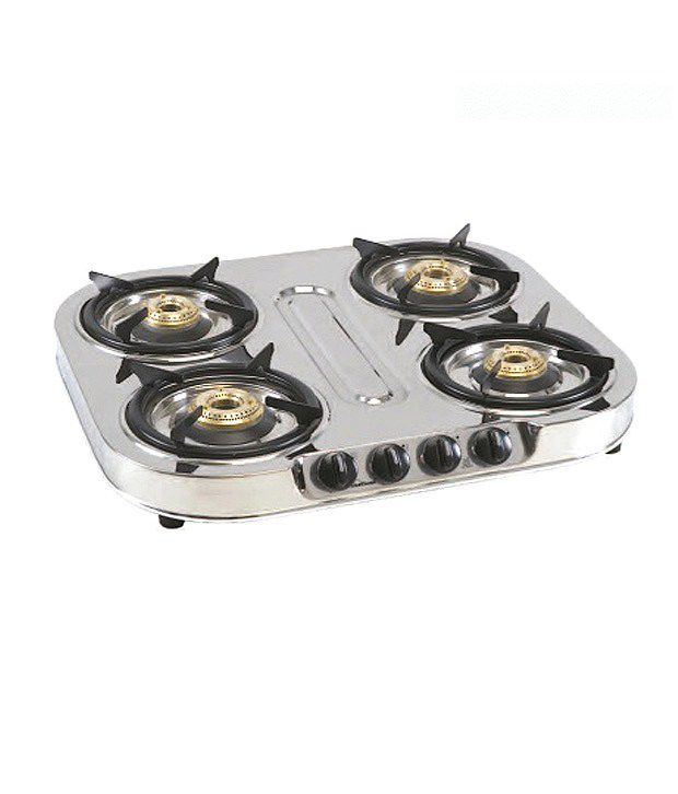 Sunflame Shakti Star 4 Burner Gas Cooktop