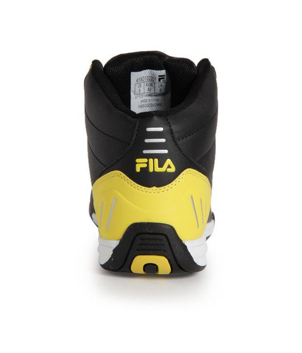 Fila Black Smart Casuals Shoes Art FISONZO168201 - Buy Fila Black ... c114f4ad0