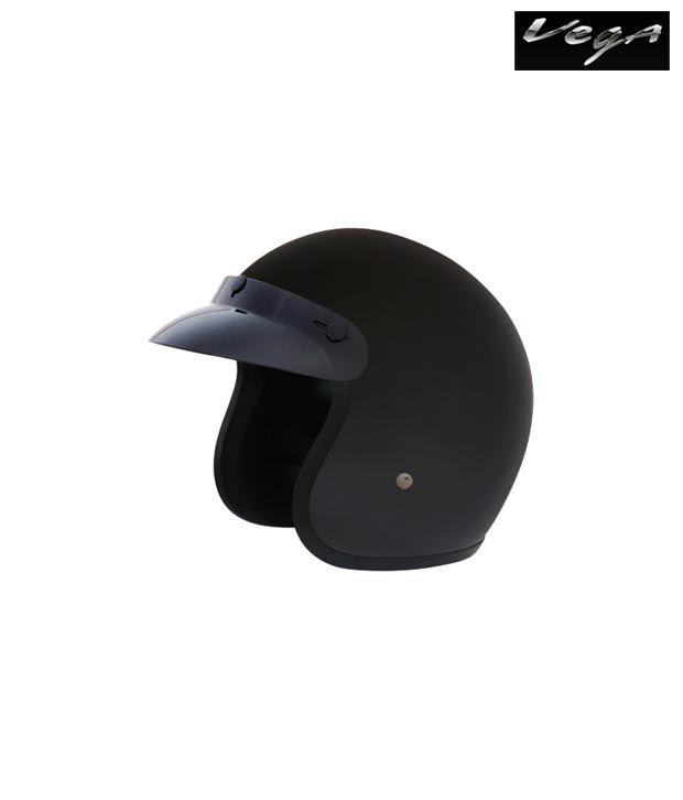 Vega Helmet - Jet (Dull Black)