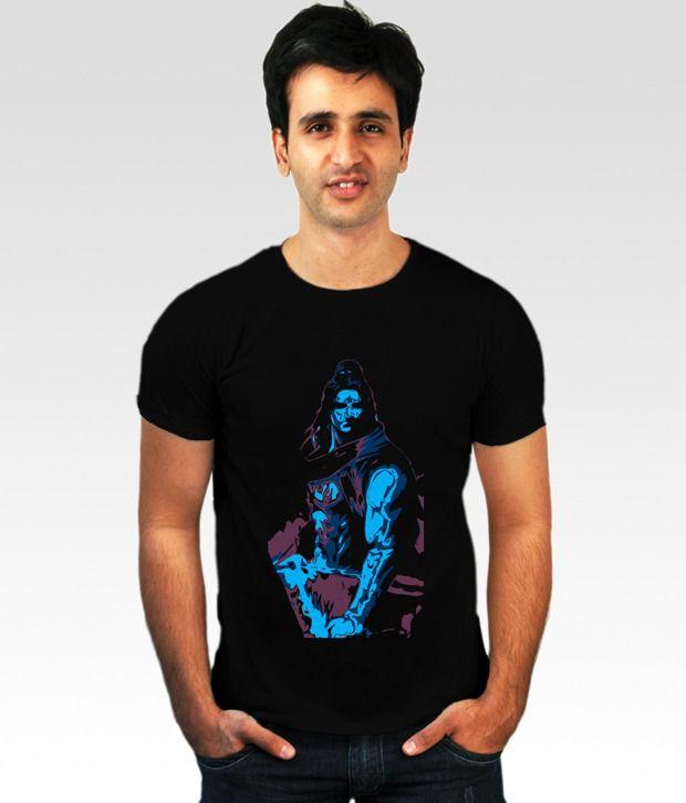 Incynk Black Lord Shiva 3 T-Shirt