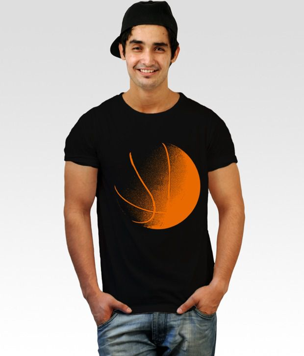Incynk Black basketball in blood T-Shirt