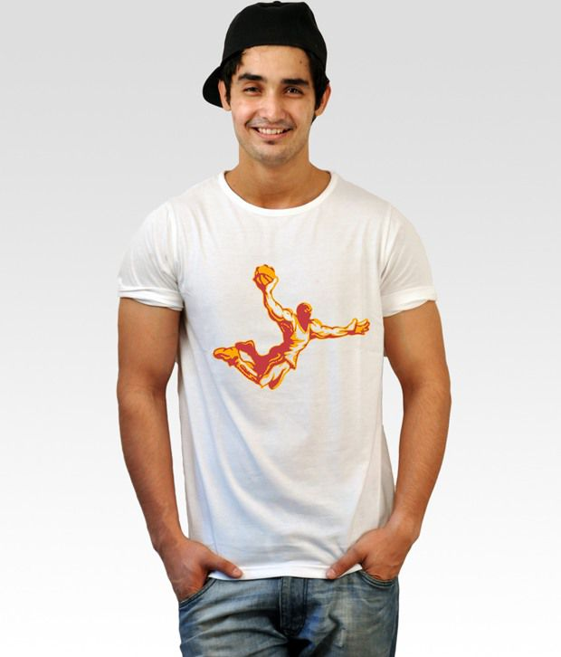 Incynk White Dunk Time T-Shirt