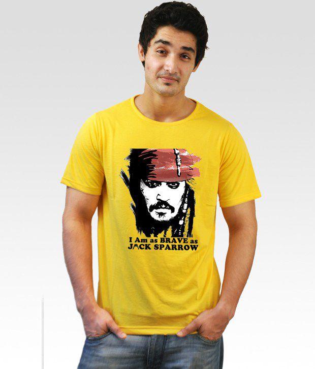 Incynk Yellow Jack Sparrow T-Shirt