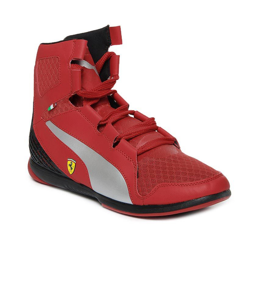 Puma Red Lifestyle Shoes - Buy Puma Red Lifestyle Shoes Online at Best  Prices in India on Snapdeal 507f8108d