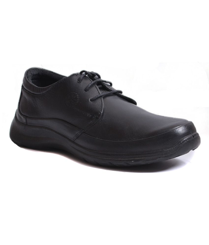 woodland black formal shoes gc831110blk price in india
