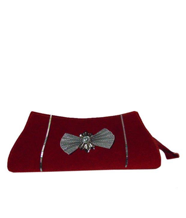 Jasmin Red Clutches