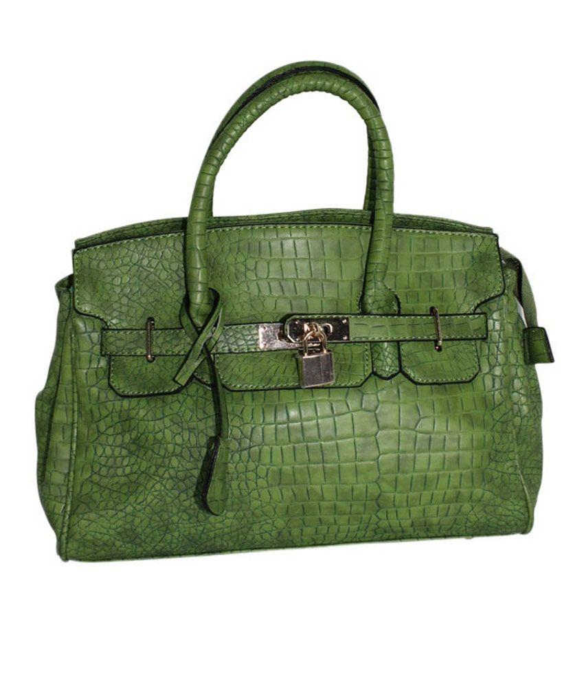 Moda Desire Green Keysha Handbag