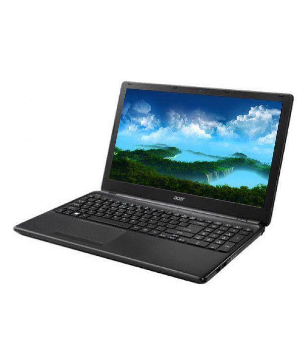 Acer Aspire E1-522 Laptop (AMD A Series Quad Core A6- 500GB- 4GB- 39.62cm (15.6)- Win 8- 2GB ) (Clarinet Black) (NX.M81SI.002)