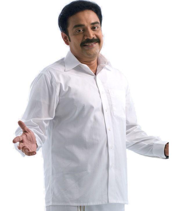 40516491 Ramraj White Full Sleeve Shirt - Buy Ramraj White Full Sleeve Shirt Online  at Best Prices in India on Snapdeal