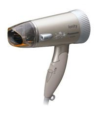 Panasonic EHNE42 Hair Dryer Brown and White