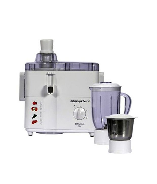 Morphy Richards Effectivo 2 Jars 450W Juicer Mixer Grinder