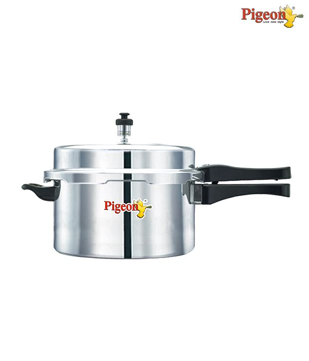 Pigeon Outer Lid Aluminium Pressure Cooker   3 Ltr.