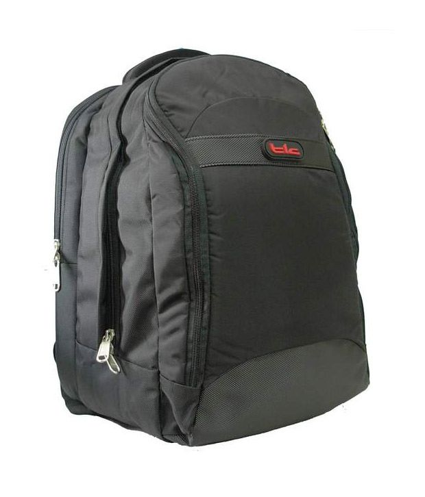 TLC Gamascale 15.6 inch Laptop Backpack Bag (Black)
