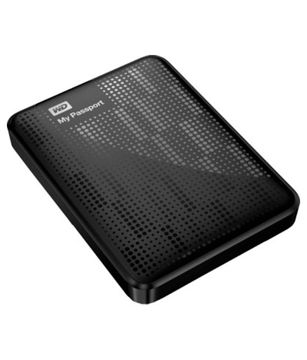WD My Passport 1 TB Hard Disk (Black)