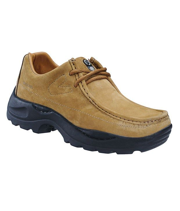 Woodland Brown Outdoor Shoes Art G4035CAM - Buy Woodland ...