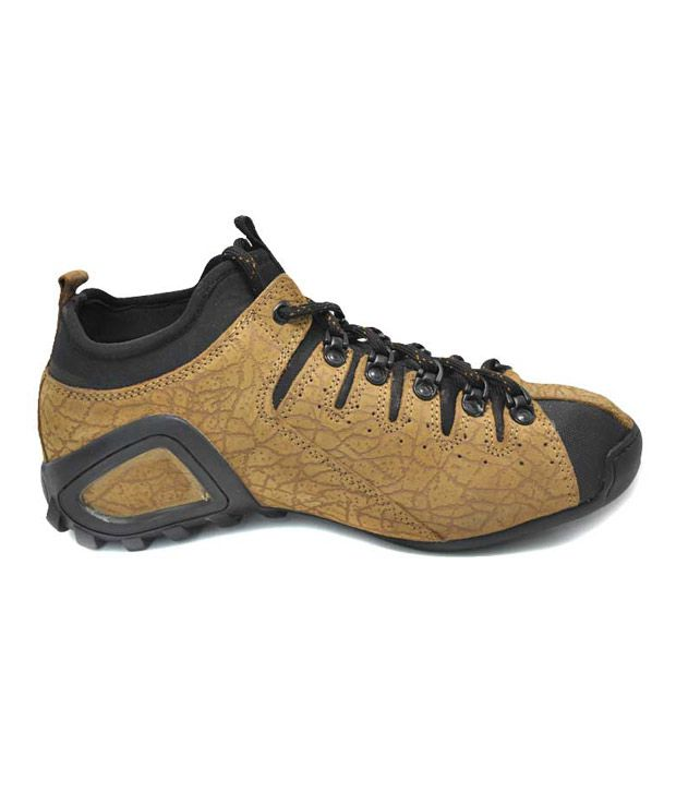 Woodland Spirited Camel Brown Outdoor Casual Shoes Art GC554108CAM
