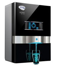 Pureit Ultima 10 L RO + UV Water Purifier (Black)