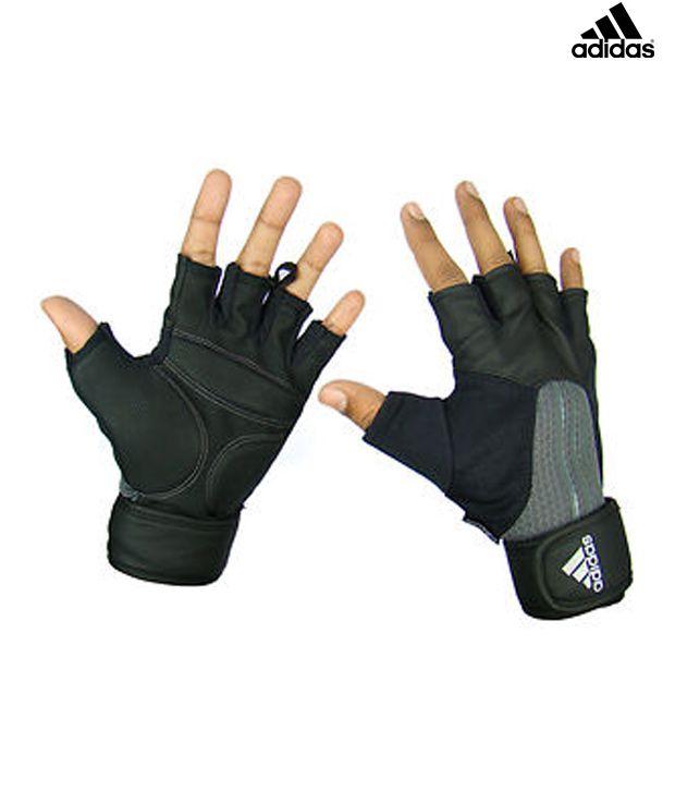 fitness handschoenen climacool zwart adidas