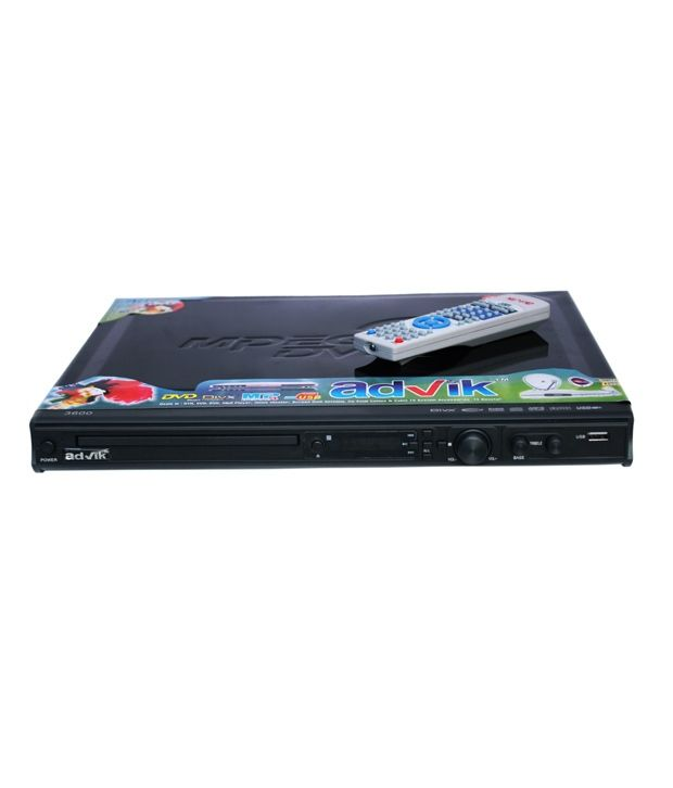 Advik 5.1 DVD Player with Advik  5.1 AD-SP517 Speaker System and  AD-HS900 Headphone