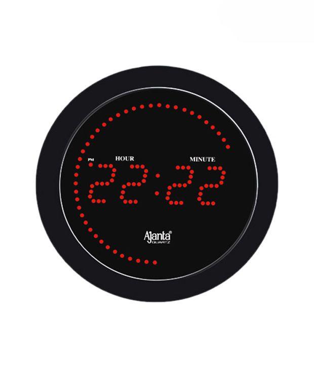 Ajanta Round Digital Clock Buy Ajanta Round Digital Clock