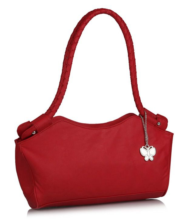 Butterflies BNS0304 Red Shoulder Bag - Buy Butterflies BNS0304 Red ...