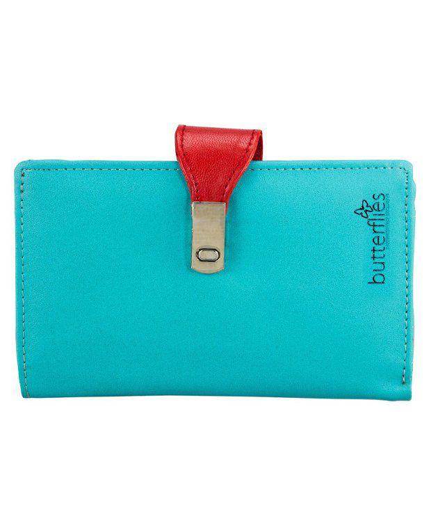 Butterflies Classic Blue Women's Regular Wallet
