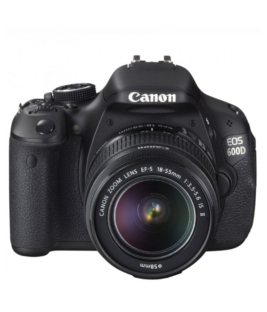 Canon EOS 600D with 18...
