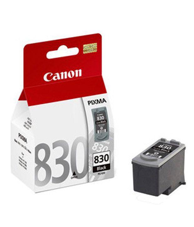 Canon PG 830 Black Ink cartridge (Black)