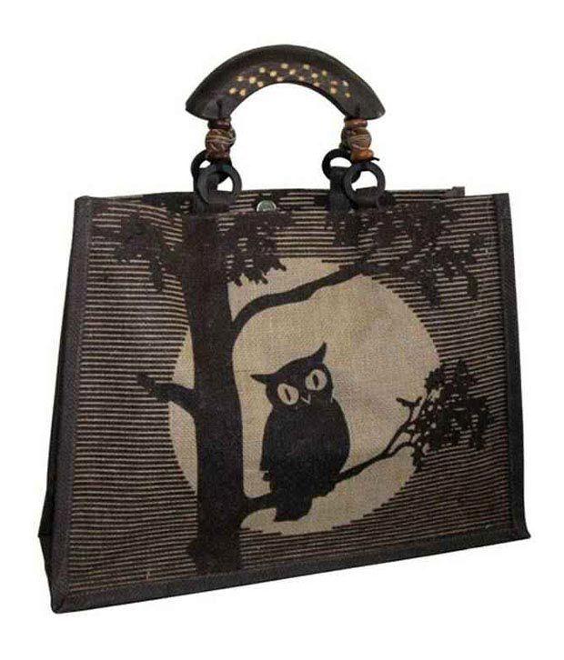 Earthbags Brown Fashion Handbag