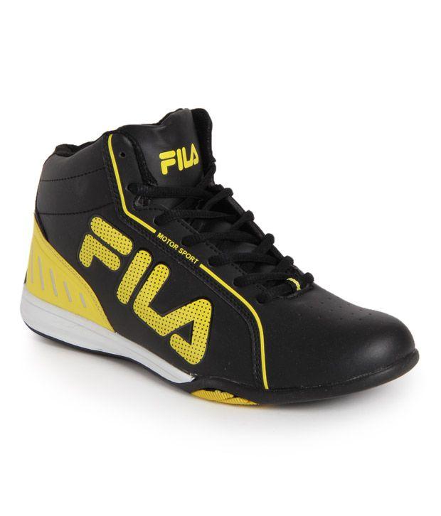 Fila Black Smart Casuals Shoes