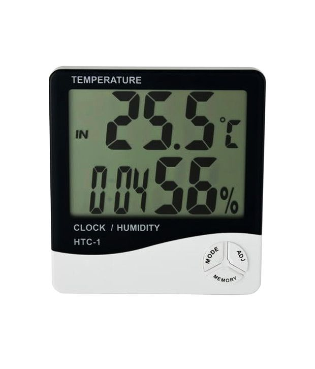 Gadget Hero's Digital Hygrometer Thermometer Humidity ...