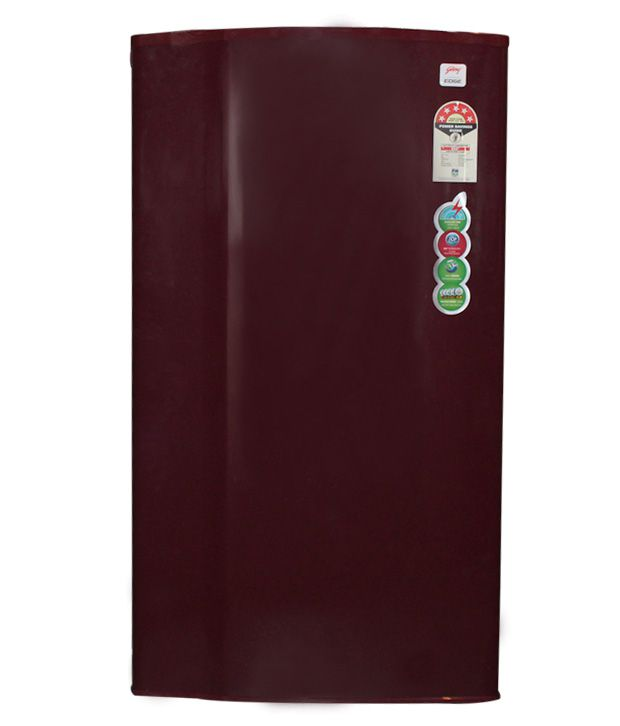 Godrej 185 LTR RD EDGE 185CW Direct Cool Refrigerator - Red