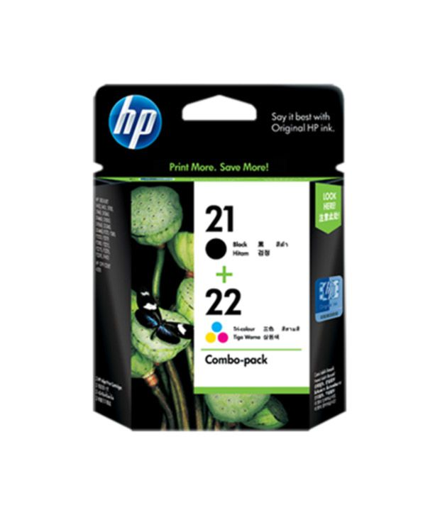 HP 21/22 Inkjet Combo Pack