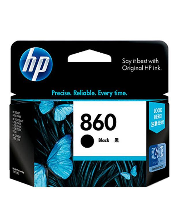 HP 860 Black Inkjet Print Cartridge