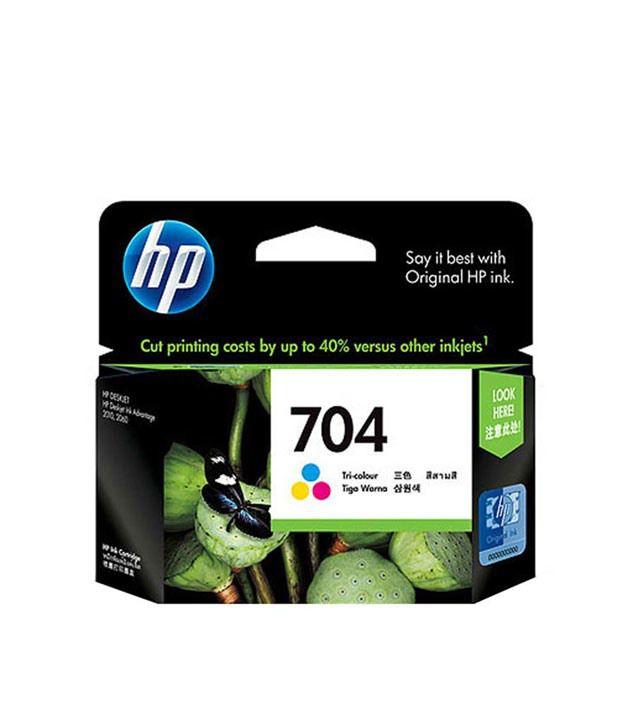 Hewlett Packard 704 Ink Cartridge (Tri-Colour)