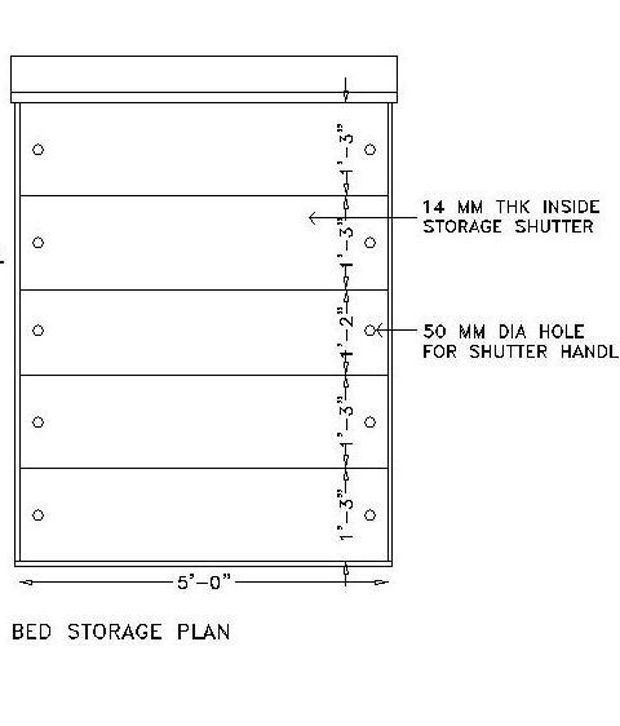 Housefull Calino Queen Size Bed with Storage. Housefull Calino Queen Size Bed with Storage   Buy Housefull