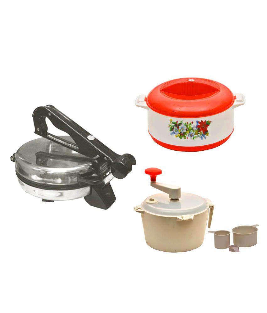 Kitchen pro kitchen combo 3 pcs buy online at best for Kitchen combo set 50 pcs