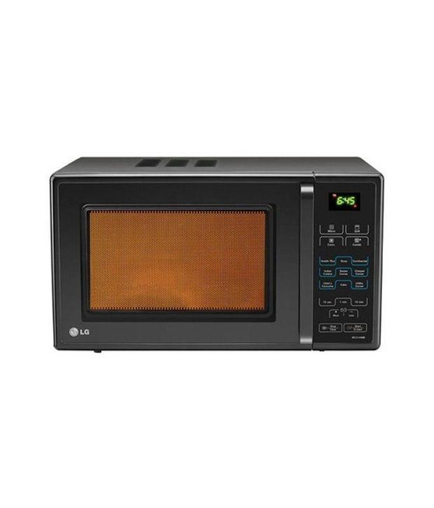 21 Litre Convection Microwave Oven: LG 21 Litre MC2149BB Microwave Oven Convection Microwave
