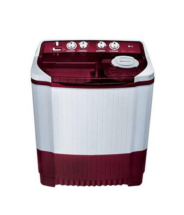 LG 6 2 Kg P7255R3FA Semi Automatic Top Load Washing Machine Burgundy
