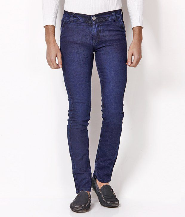 Nation Mania Cool Blue Slim Fit Jeans