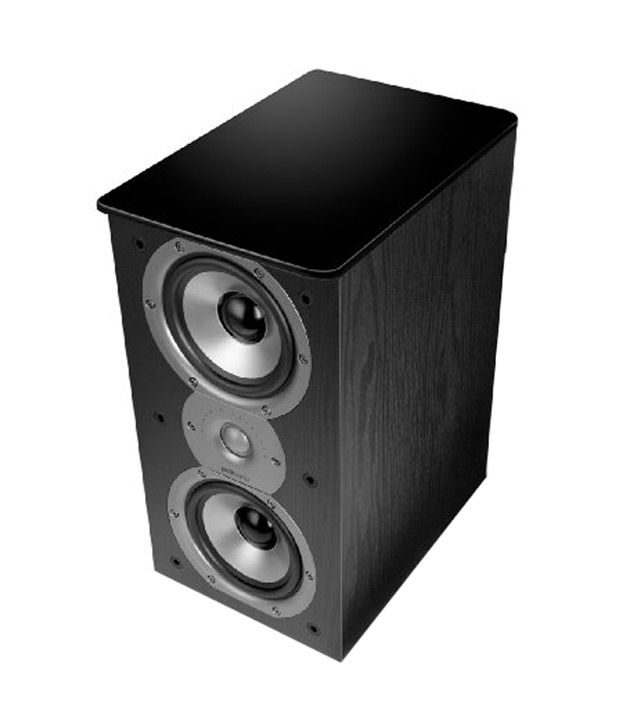 buy polk audio tsi200 bookshelf speaker (pair black