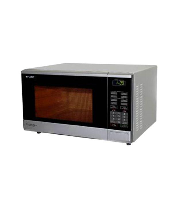 Sharp 33ltr R380vi S Inverter Solo Microwave Oven