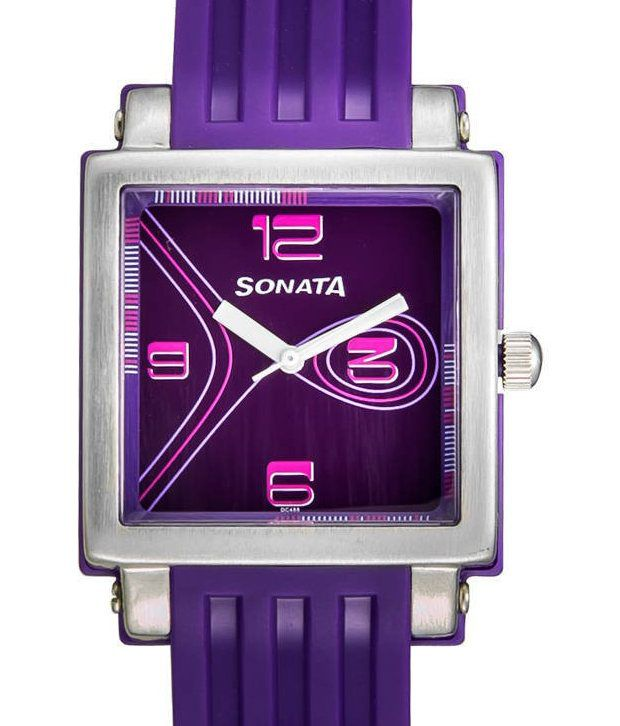 Sonata Fashion Fibre ND8990PP01J Women's Watch