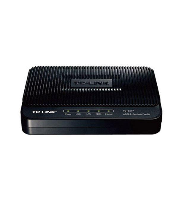 TP-Link 10/100 Mbps Ethernet Router (USB Support) (TD-8817)