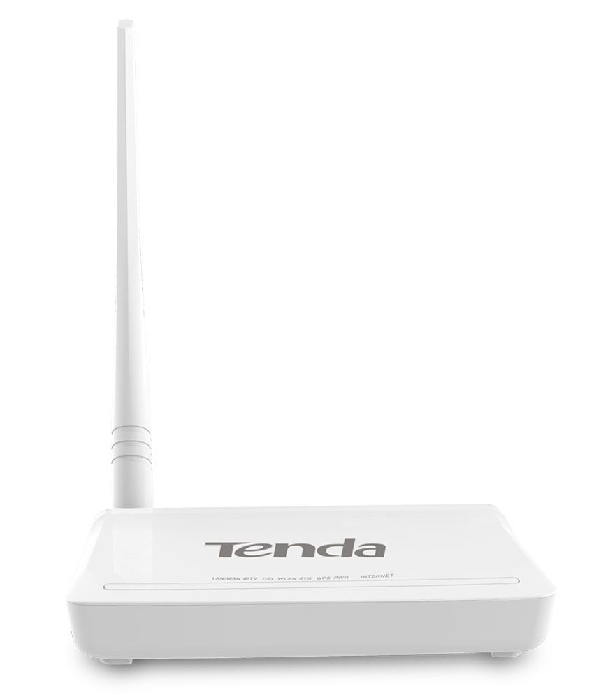 Tenda 150 Mbps Wireless ADSL2+ Modem Router (TE-D152)Wireless Routers With Modem