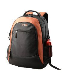 Vip I02 01 Laptop Backpack Black With Organg